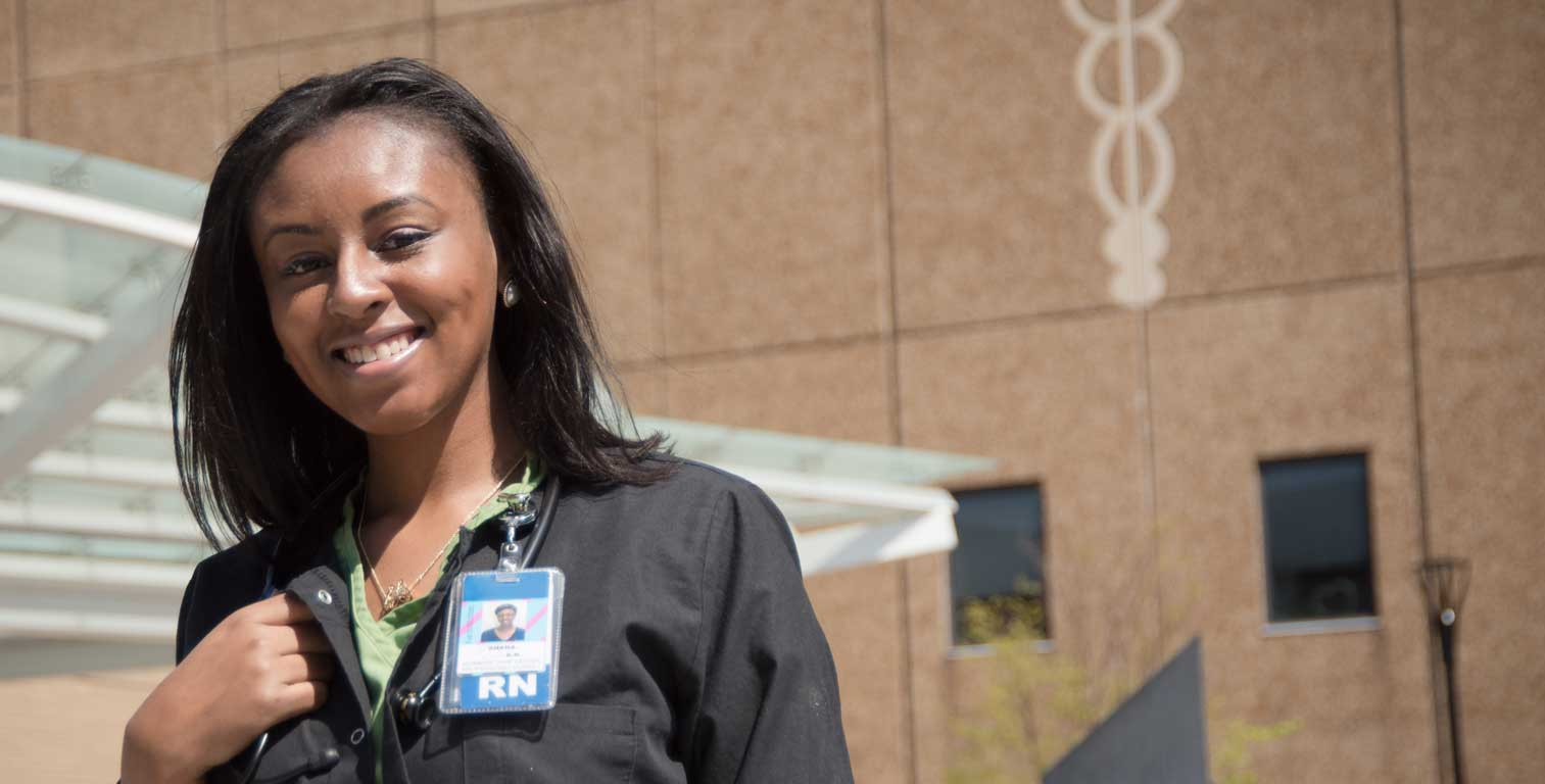 Shana shares her successes with Quinnipiac University's online RN to BSN program