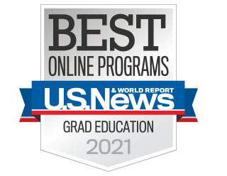 Quinnipiac University ranks among the US News top online graduate education programs in 2021.