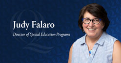 Judith Falaro, JD, Director of Special Education and Assistant Professor of Education, Quinnipiac University