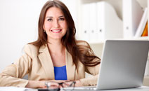 Aspiring leader decides to earn her MBA online.