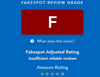 Fakespot.com evaluates online reviews.